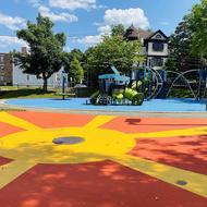 Tillman splash pad in Roxbury