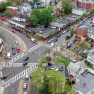Egleston Square Redesign socially distant pop-up meeting