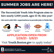 MAYOR JANEY ANNOUNCES OPENING OF APPLICATIONS FOR SUCCESSLINK YOUTH JOBS PROGRAM